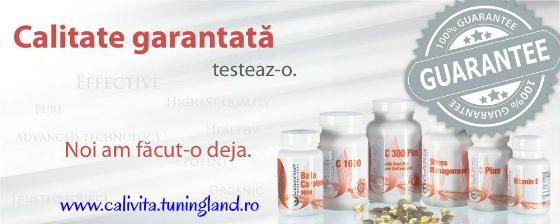 Calivita vitamine si suplimente alimentare