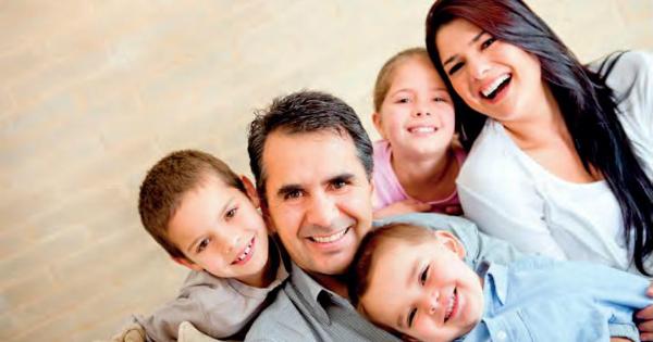 familia fericita