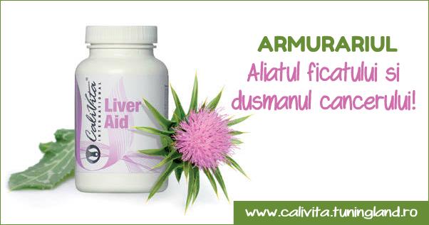 Liver Aid cu extract de armurariu